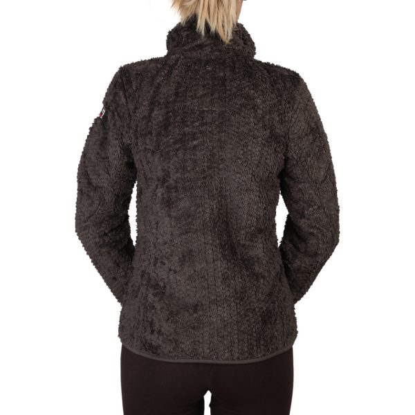 Geographical Norway Zipped Choco Sweatshirt Picture3: