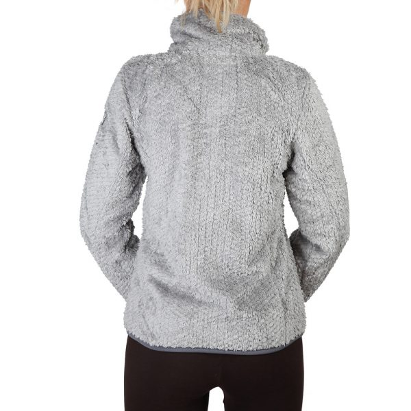 Geographical Norway Zipped Light Grey Sweatshirt Picture2:
