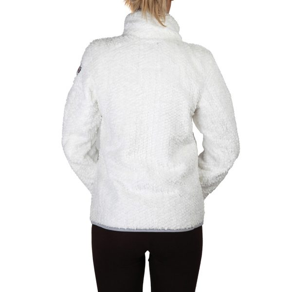 Geographical Norway Zipped White Sweatshirt Picture3: