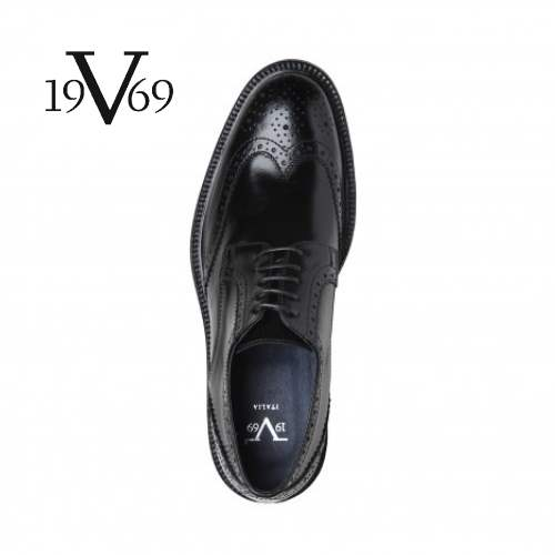 V 1969 Italian Men's Genuine Leather shoes Picture1: